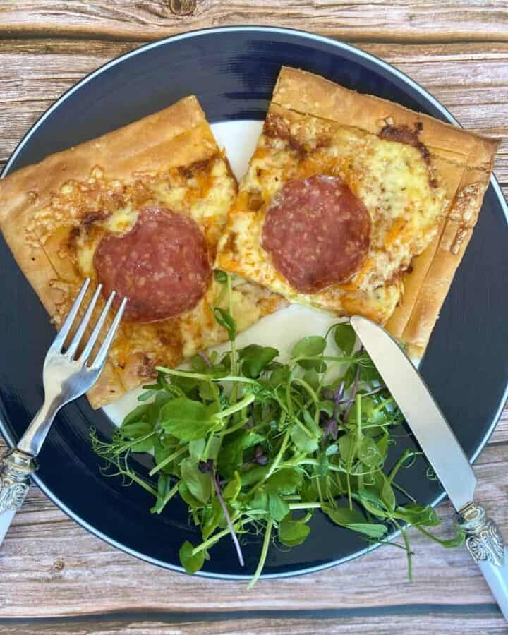 Gluten Free Puff Pastry Pizza