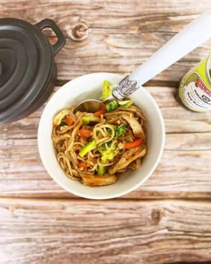 Kids Chicken Teriyaki Style Noodles