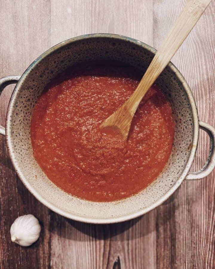 Hidden Vegetable Tomato Pasta Sauce