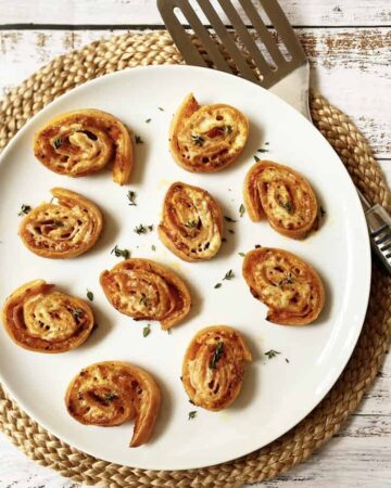 Gluten Free Ham and Cheese Pinwheel